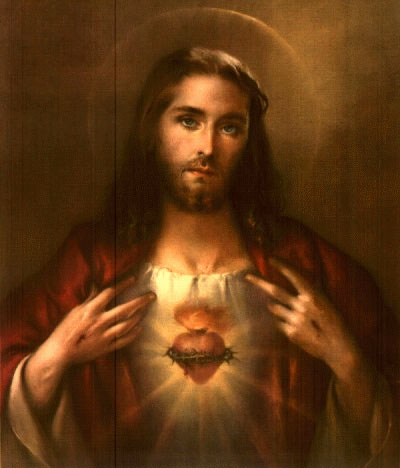 Image of the Sacred Heart used by St. Teresa of Calcutta