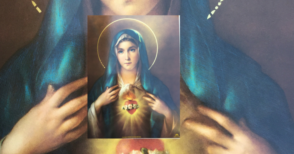 May = A Month dedicated to Mary