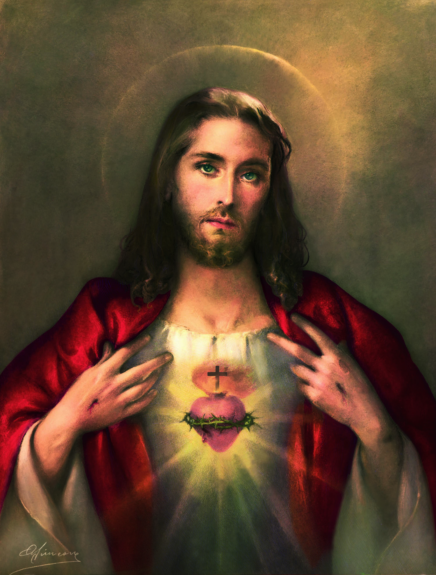 Image of the Sacred Heart of Jesus