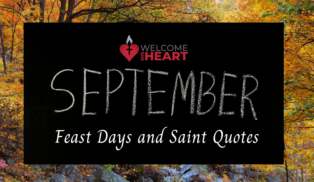 Inspiring Saint Quotes for Month of September