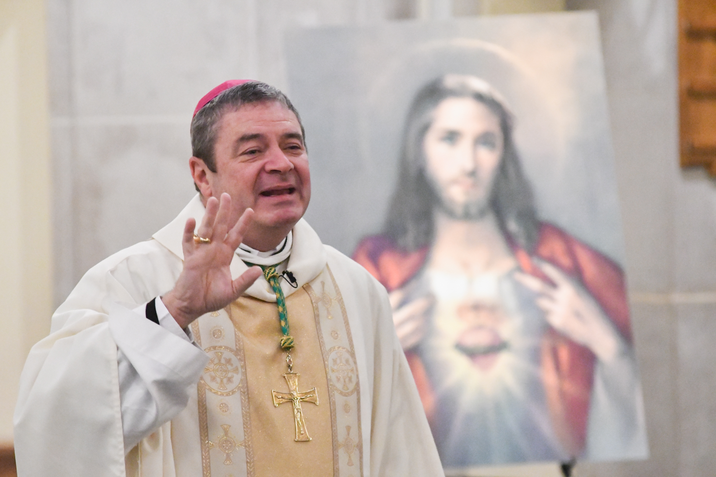 Bishop Brennan at the 2019 Sacred Heart Congress
