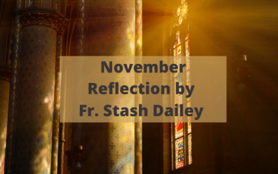 November Reflection by Fr. Stash Dailey